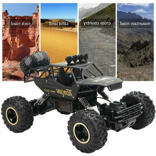 Monster 2.4G RC Rock Car Remote US