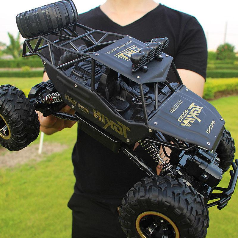 Monster Truck 2.4G RC Rock Off-Road Remote Control Drift Nitro US