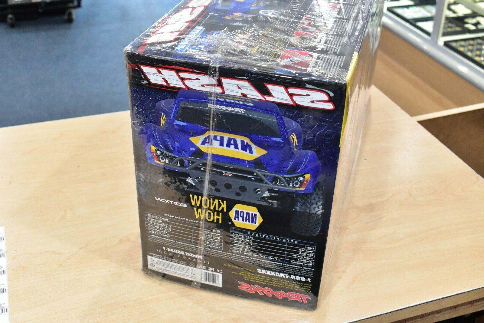 TRAXXAS NAPA SLASH CAR 58034-1 IN