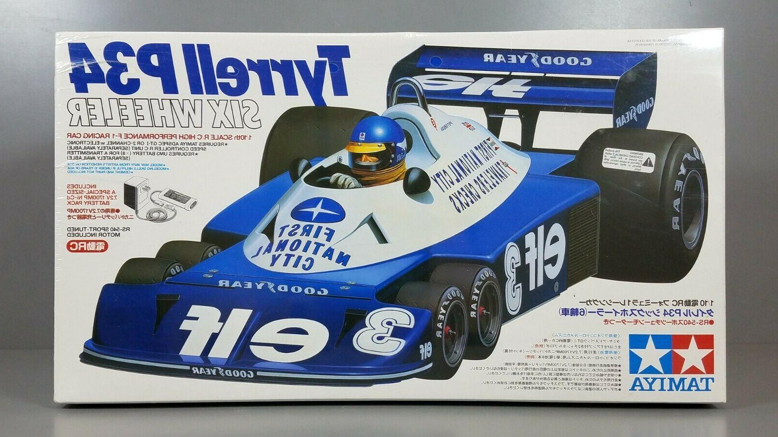 New Seal 1/10 P34 Wheeler Racing Car Battery