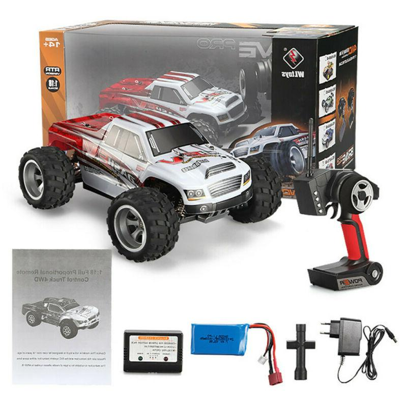 40+MPH 1/18 RC Car 2.4G 70km/h Fast Controlled TRACK