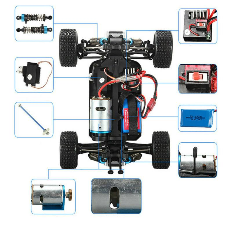 40+MPH 1/18 Car Fast Controlled TRACK