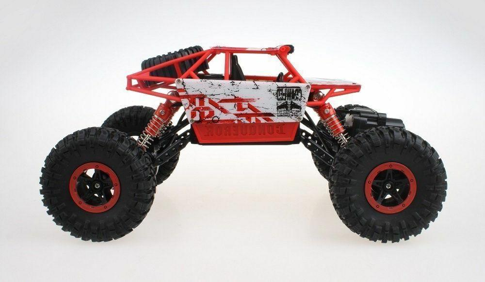 NWOB Click Rock Crawler Car Red Vehicle