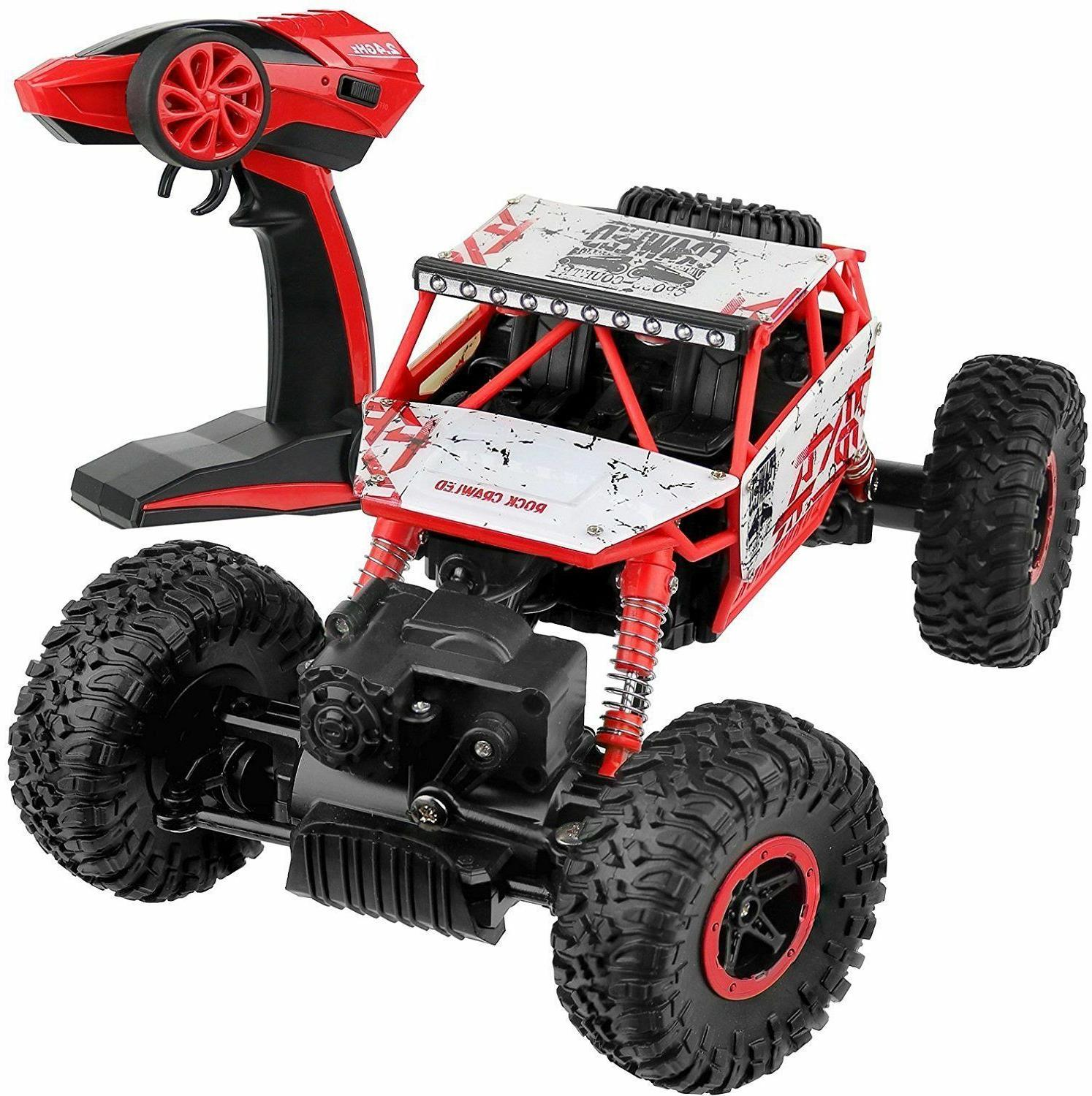 nwob rock crawler rc car red vehicle