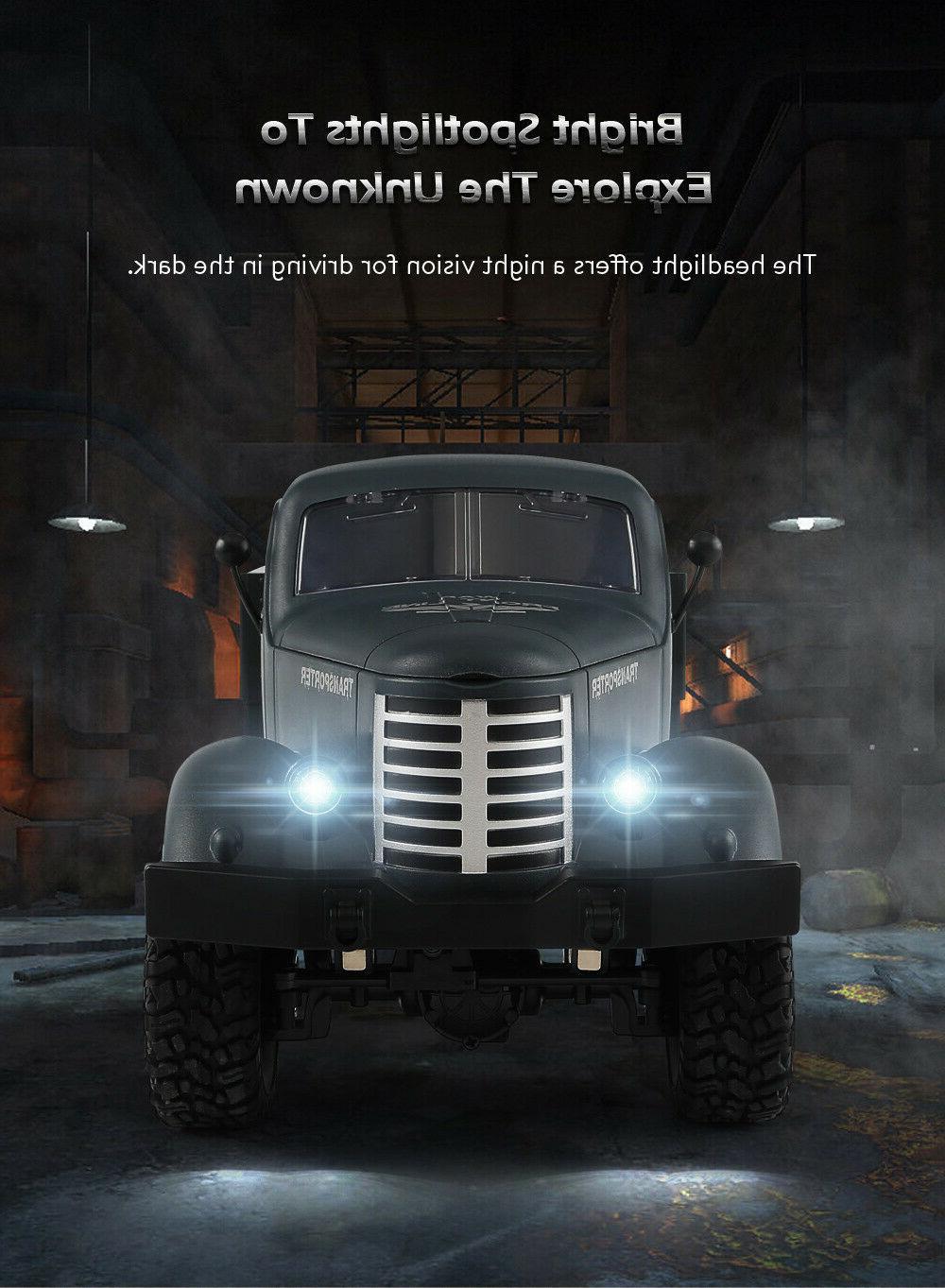 JJRC Q60 1/16 2.4G 6WD Off-Road Retro WW2 Military/Army Truc