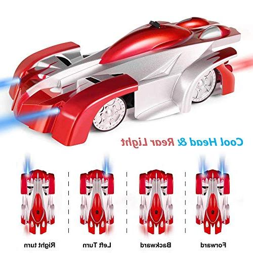 Race for Year Old Joyfun RC Car Wall Climbing Kids Fast Remote for Girls Cool Christmas Red