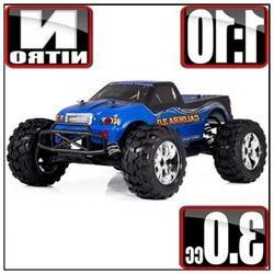 Redcat Racing 2126-2124 BLUE Caldera 3.0 1/10 Scale Nitro Tr