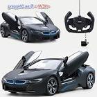 Radio Remote Control Car BMW i8 R/C Open Door Toy Kid Child