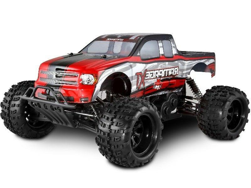 HUGE 1/5th RAMPAGE XT Gas Powered RC Monster Truck 4X4 RTR w