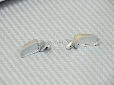 RC Accessories SPOILER -MIRRORS -Match Color BLACK