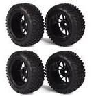 BQLZR RC 1:10 Wheel Rim Rubber Tyre Tires for Off-Road Vehic