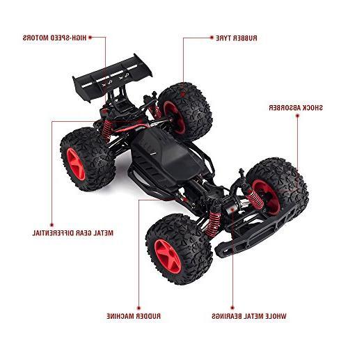 KOOWHEEL Car, 4WD 2.4Ghz 30MPH Speed RC Kids and