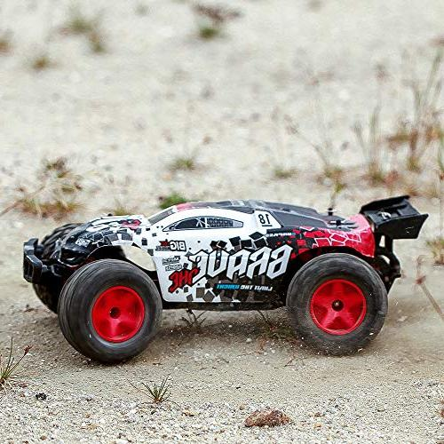 KOOWHEEL 4WD Remote Control Car, 2.4Ghz Off-Road 30MPH High RC Buggy Race, Kids and Adults