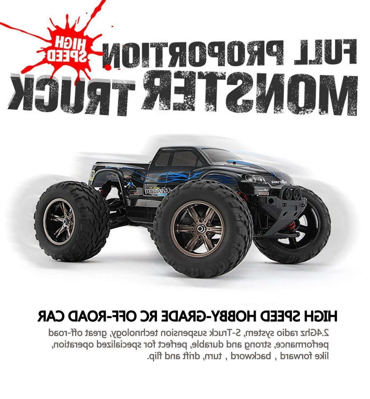 Hosim RC Car Scale 2WD Off-road Remote Car