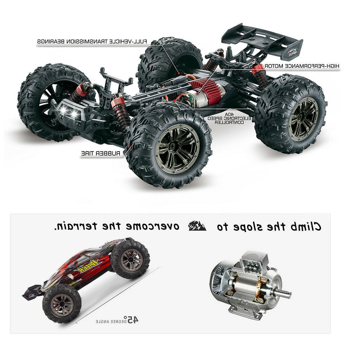 Hosim RC 4WD 2.4G 36km/h Remote Control Truck RTR