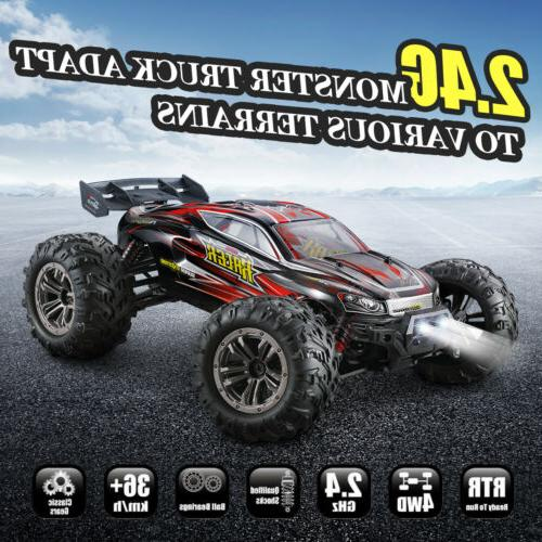 Hosim RC Car 1/16 Scale 2.4Ghz 4WD 36km/h Remote Control Tru