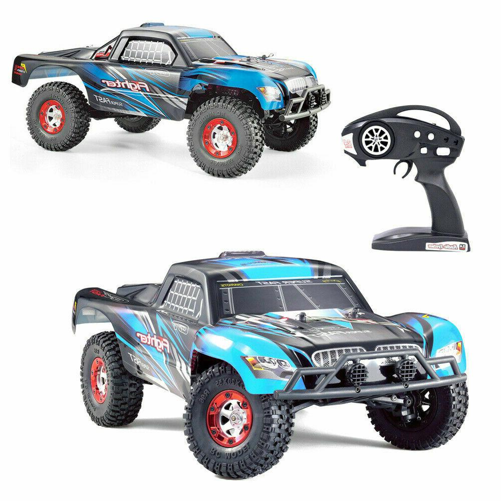 RC Car Off-road Remote Control Electric Blue 40km/h
