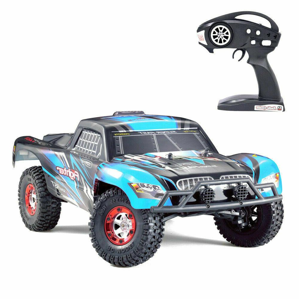 RC Car Off-road Truck Electric Car Kid Gifts Blue
