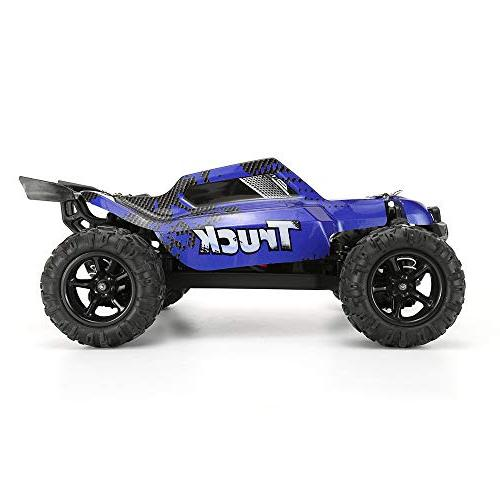 FunTech Rc RC Electric Racing Cars, Remote Control Car Off Monster Off-Road 2.4-Ghz Radio 4WD Speed Car
