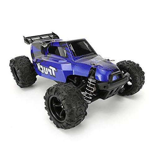 FunTech Electric Remote Control Off Road Monster Truck, Off-Road 2.4-Ghz