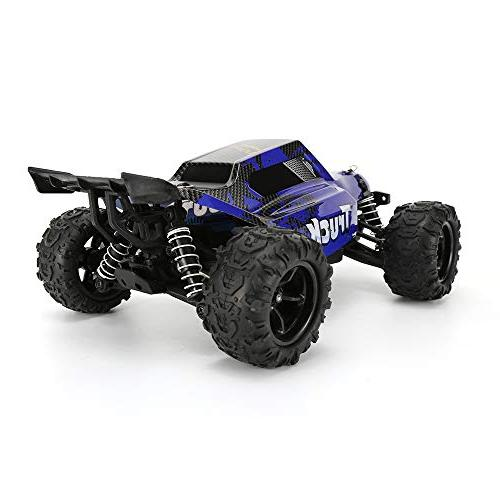 FunTech Rc Electric Cars, Control Monster Off-Road 2.4-Ghz 4WD High