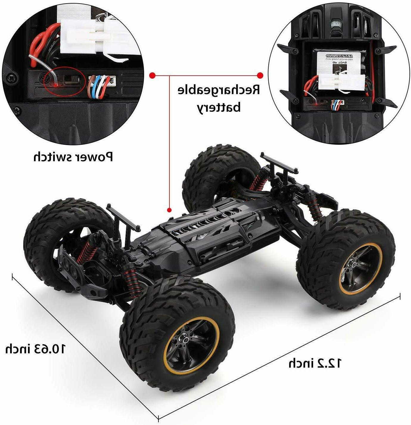 Theefun 33+ mph Remote Control Car 1: Electric Vehicle