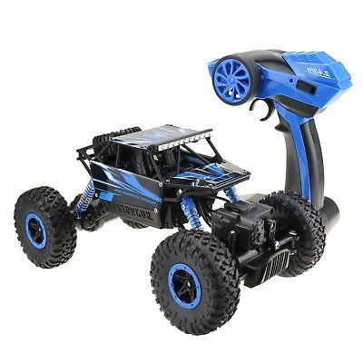 RC 2.4GHz Rock Rally Car 4x4 Double Motors Vehicle