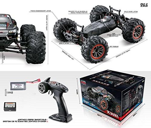1/10 High Speed 46km/h 2.4Ghz 4WD Controlled Off-Road Car