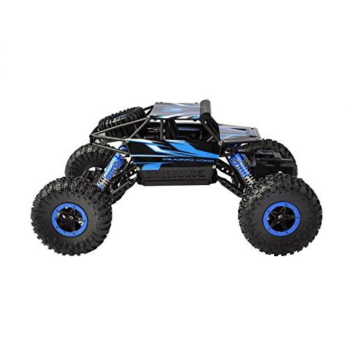 Hapinic Two Battery 2.4Ghz 1/18 Crawlers Vehicle Toy Control Car