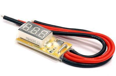 rc car c24687 mini 5v 25v voltmeter