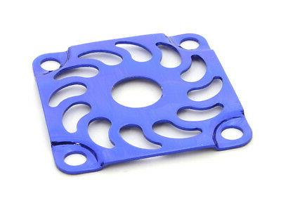 rc car c26733blue metal cooling fan cover