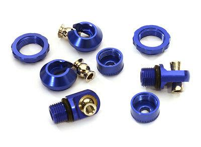 rc car c28055blue anodized shock parts