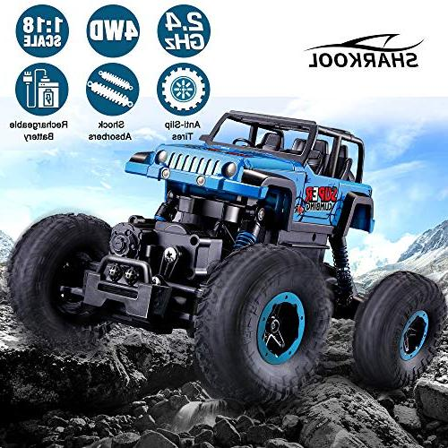 RC Newest 2.4 Trucks Control Car Rechargeable Off RC Toy for