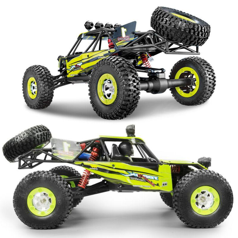 Ready To Run 1/12 2.4G RC Cars Off-road Rock Crawler Climber
