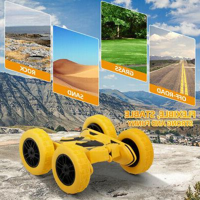 RC Car Remote Control Stunt Car 4WD 2.4Ghz Frequency Double