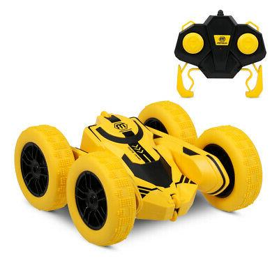 RC Car Remote Control Stunt Car 4WD Double Sided Rotating Ve