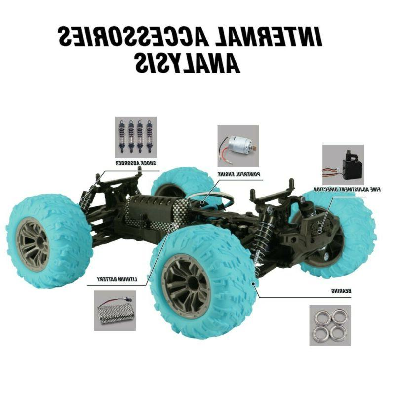RC Car 4WD 36km/h High-speed Remote Truck