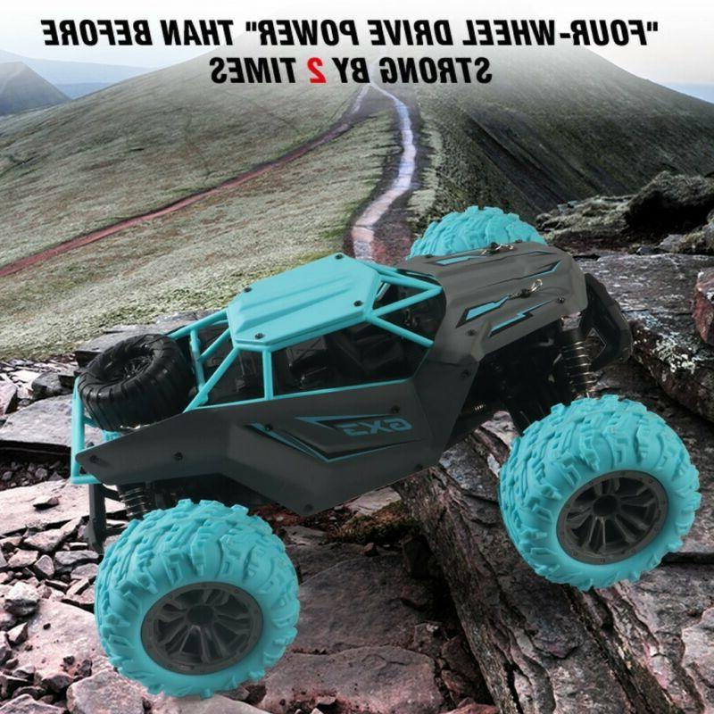 RC 4WD High-speed Remote Truck