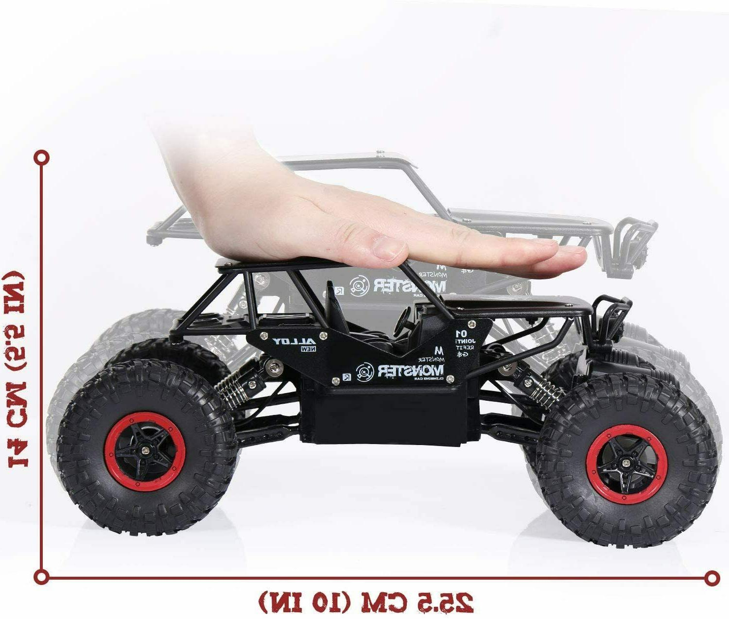 RC Toy Kids, Car, 4WD Road Crawler