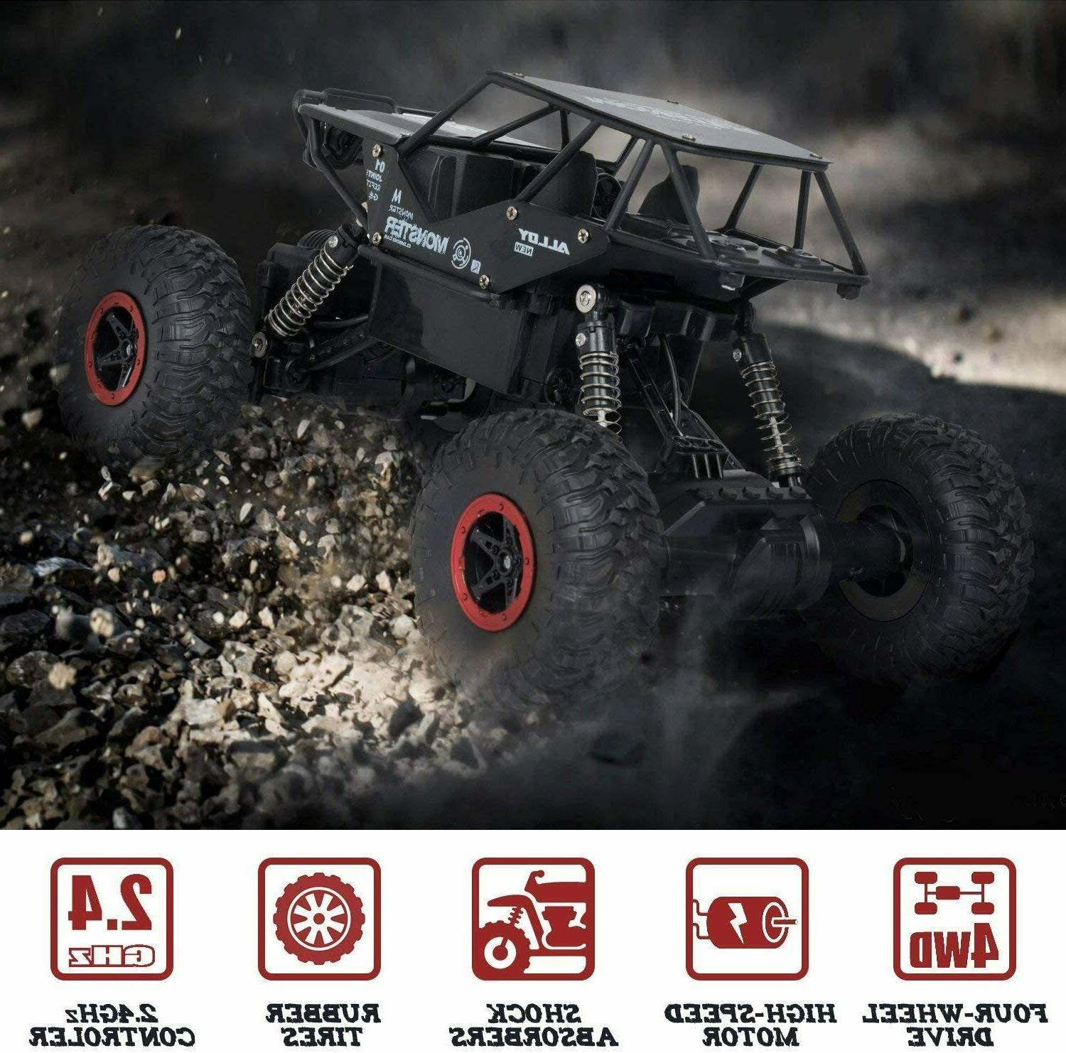 Kids, Control Car, 4WD Road Crawler