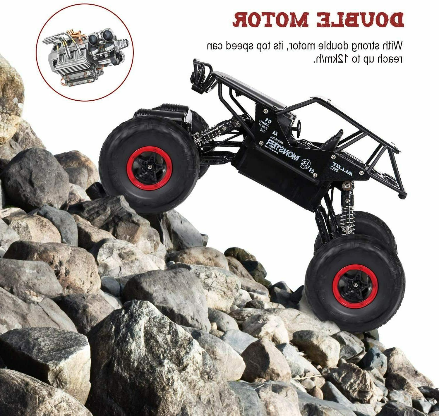 RC Toy Kids, Remote Car, Rechargable Road Crawler