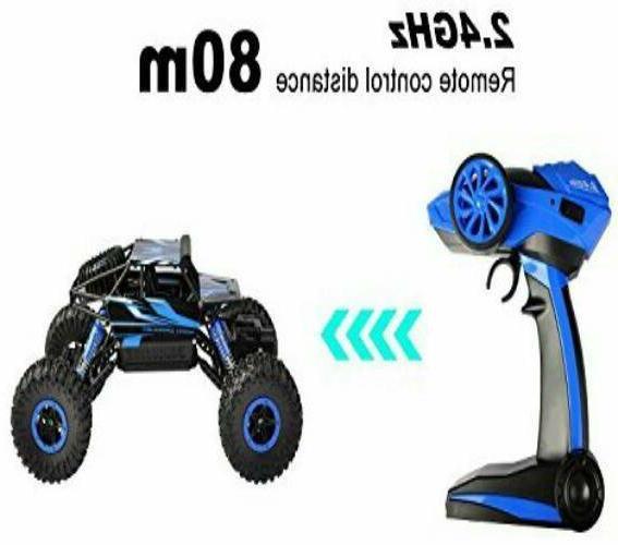 Hapinic Two 4WD 1/18 Crawlers Vehicle Toy