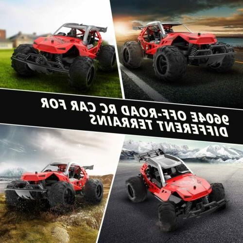 RC Trucks 1:10 High 4WD 2.4Ghz Off-road Kids