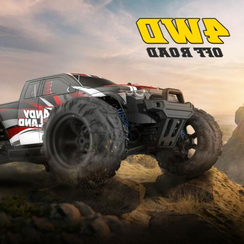 RC Car 1:10 Scale Speed 4WD 2.4Ghz Kids Gift