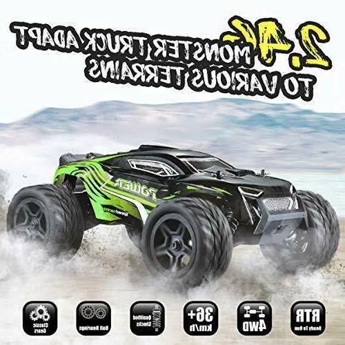 Hosim Rc Cars 1:14 4WD Truck 36+ kmh Remote
