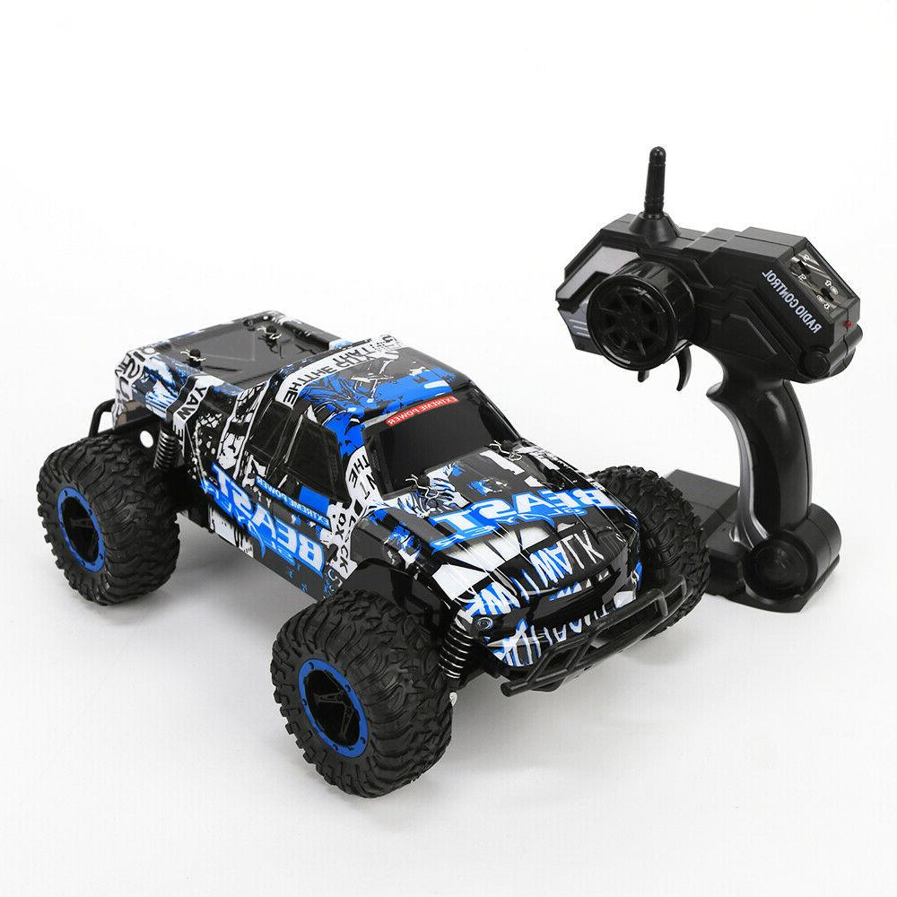 2.4G RC Car 1:16 Scale High Speed Remote Control Car Off Monster Gift