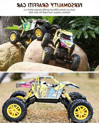 DOUBLE Cars 1:18 Motors Remote Truck 4WD Off...