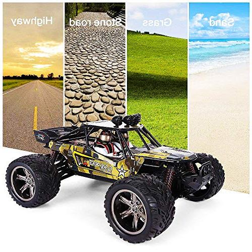 GPTOYS RC Cars Remote Control Crawler Off-Road Monster 2.4 GHz S916