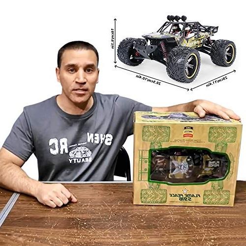 GPTOYS RC Cars Remote Control Crawler Off-Road Monster GHz 2WD
