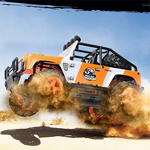 FSTgo RC Cars Truck High RC Truck 4WD Orange